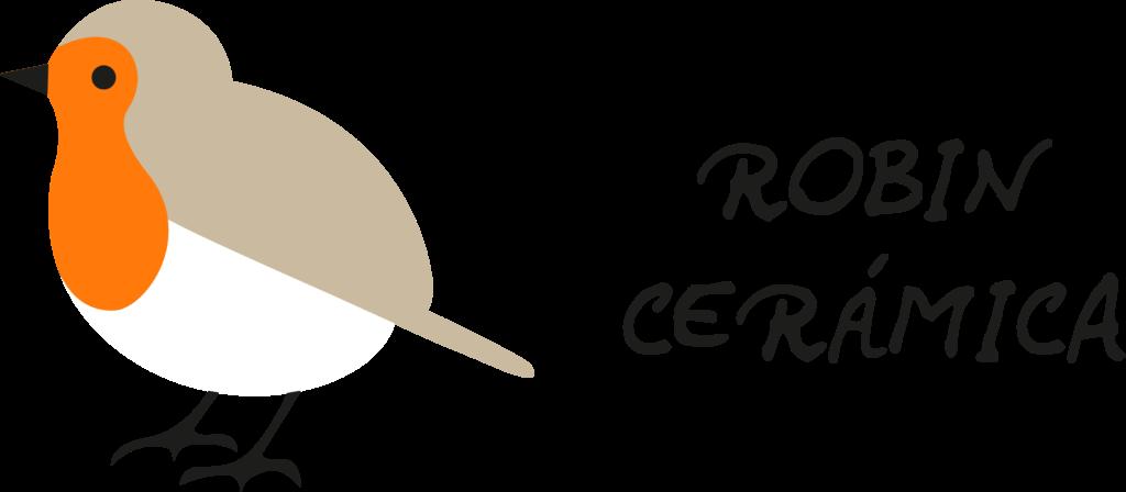 Logotipo Robin cerámica