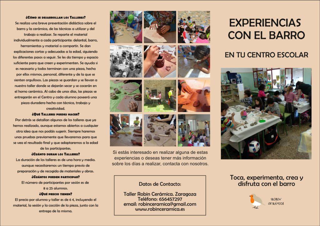 Dossier Talleres informacion