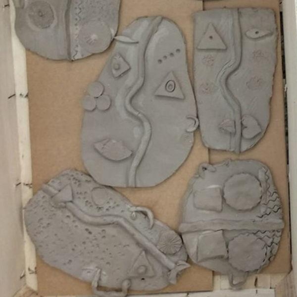 Mascaras de picasso de cerámica