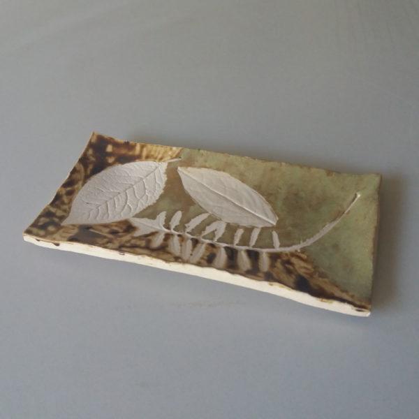 bandeja de cerámica